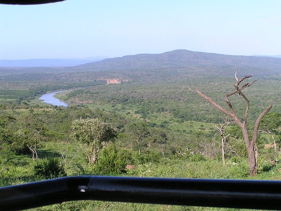 St Lucia, South Africa: A view across the reserve