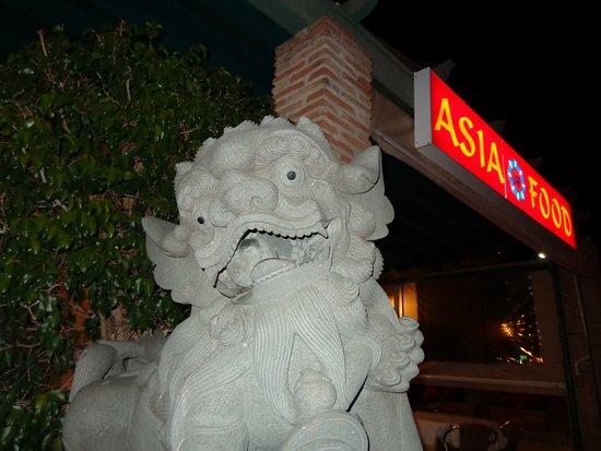 Restaurante Asia Food: Вход в ресторан