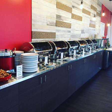 Rouyn-Noranda, Canada: Notre buffet chinois