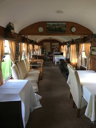 The Sidings Restaurant: Additional seating.