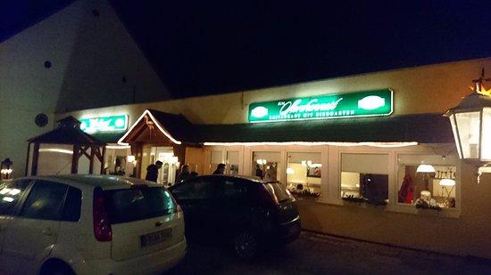 Storchennest, Altenstadt - Aussenansicht bei Nacht