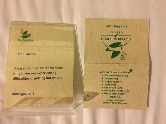 Gokarna Forest Resort: Very eco-friendly - NOT!