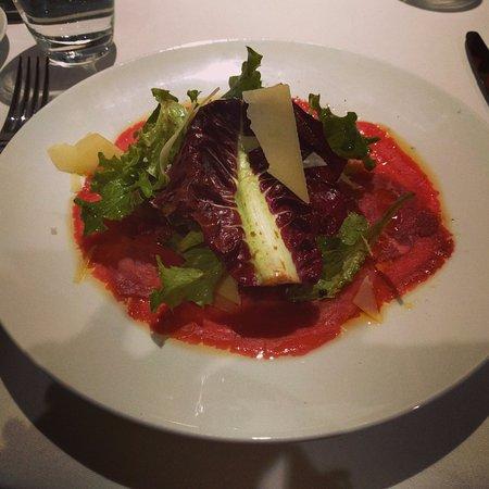 Hotel FitzRoy: Beef Carpaccio