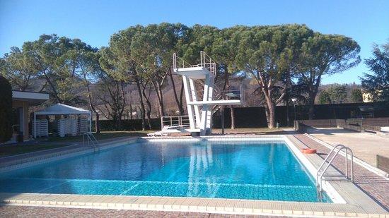 Apollo Hotel Terme: Piscina per tuffi con acqua termale