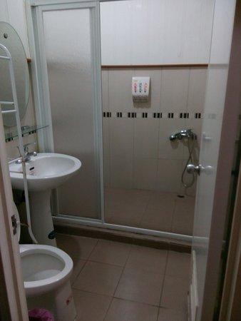 Dawu Shan: 沒有衛生紙、有提供不織布毛巾、牙刷
