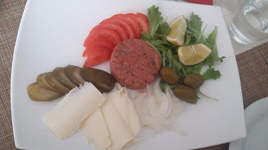 Chiusaforte, Italia: Tartara di filetto di vitellone