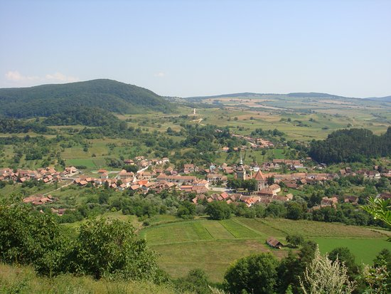 Saschiz village.