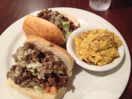 Kingsville, MD: Gunpowder cheese steak