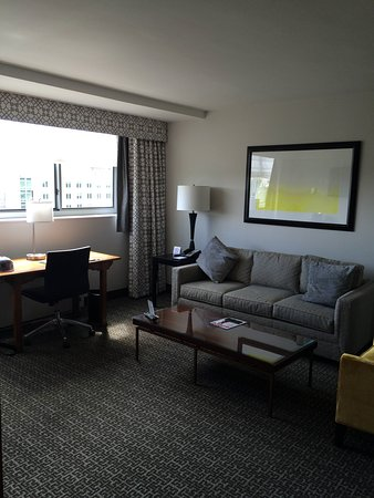 State Plaza Hotel: Room - lounge