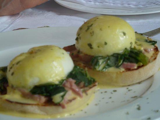 Highgrove House: œufs Bénédicte un délice