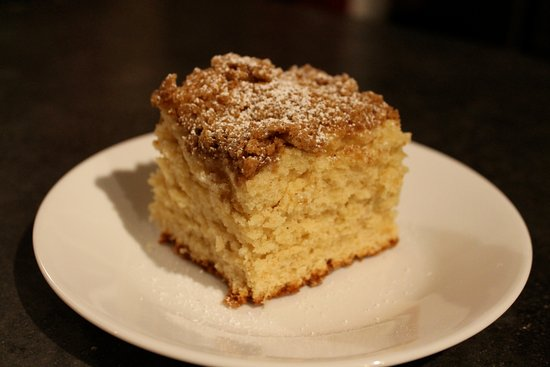 Afton, VA: Homemade Coffee Cake.