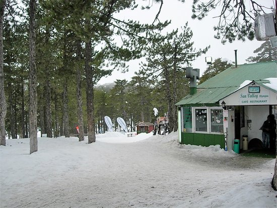 Forest Park Hotel: Sun Valley ski school Troodos