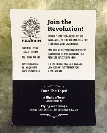 High Wycombe, UK: Join the Revolution