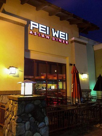 Lake Forest, CA: Pei Wei at Night