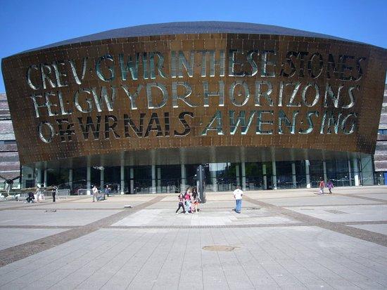 Wales Millennium Centre, Cardiff Bay