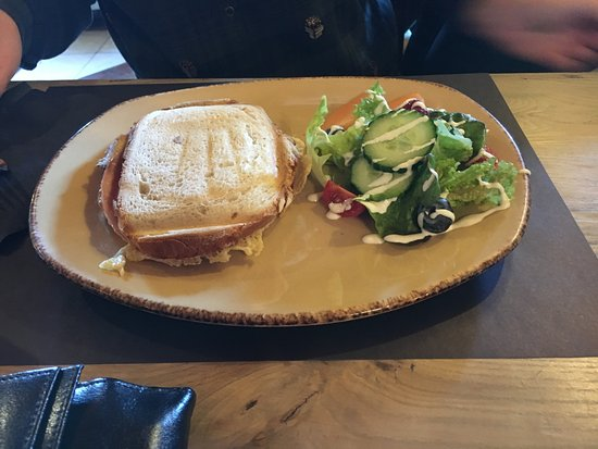 Epen, The Netherlands: Tosti ham-kaas