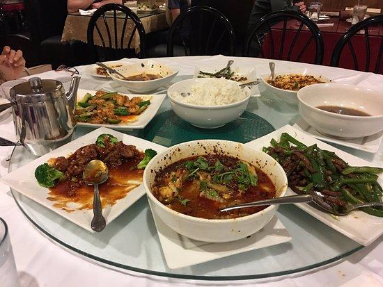 Sterling Heights, MI: Spicy Beef, Sweet beef, Shrimp, Tofu, Beans, Fish bowl, etc.