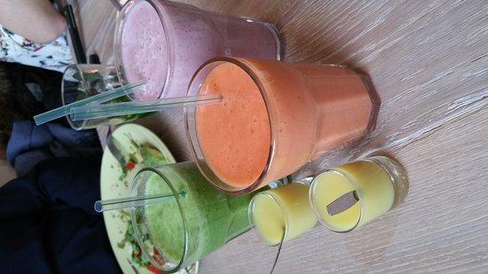 Veenendaal, Países Bajos: LEF! Smoothie & Lunchbar