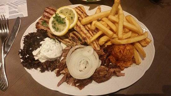 Akropolis modling greek restaurant wiener strasse 63 for Akropolis greek cuisine merrillville in