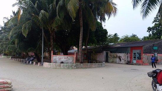 Island Pavilion: island cafes and shops