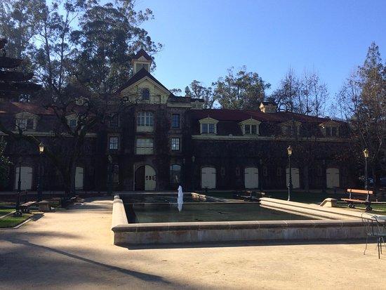 Rutherford, CA: Vista do castelo