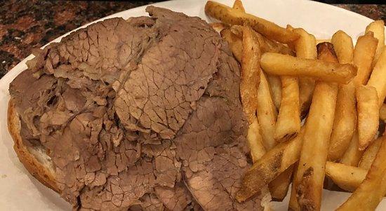 Highland Park, IL: Roasted beef