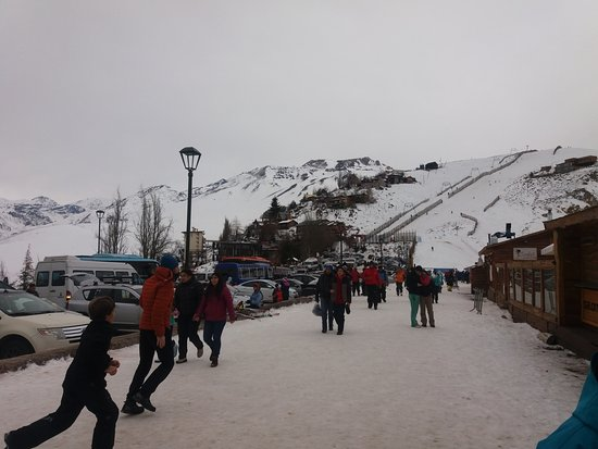 Farellones, Chile: Lado de fora do Parque (no setor Cumbre)