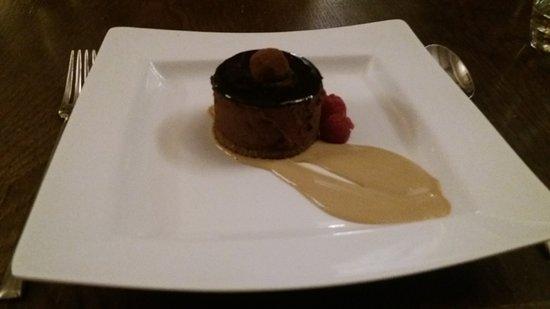 Tortworth, UK: Chocolate truffle