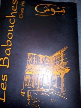 Epinal, France: menu