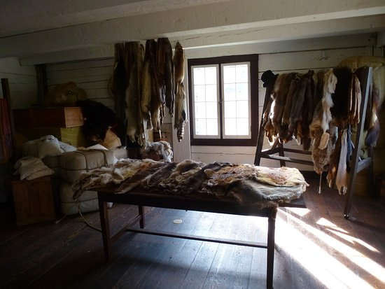 Fort Langley, Canada: Furs were a very important good in the trade