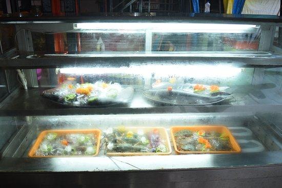 Pedro's: seafood displayed @Pedros