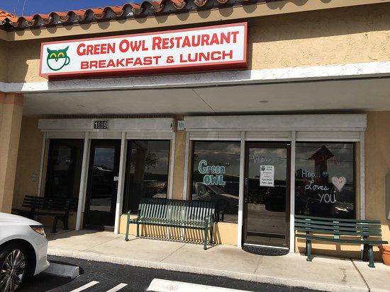 Green Owl Restaurant, Boynton Beach - 1889 W Woolbright Rd ...
