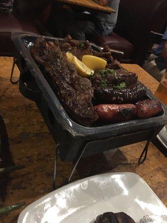 Meat lovers dinner