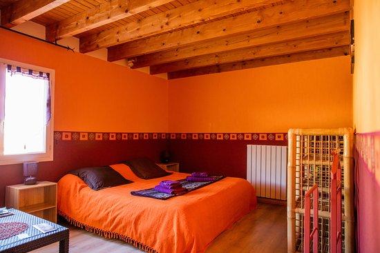 Chauvigny, Francia: Capucine - Suite familiale Chambre 1