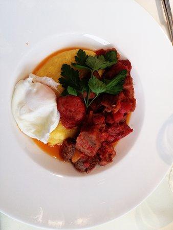 Azuga, Rumania: Romanian dish plis pickles salad. Perfect aftera day of skiing!
