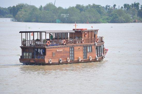 Can Tho, Vietnam: Båten vi åkte på