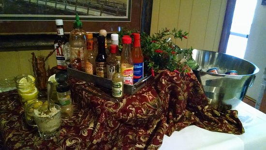 Swedesboro, NJ: Make your own Bloody Mary bar...