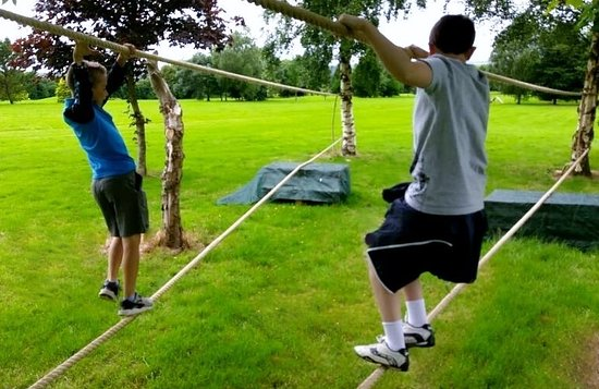 Navan, Ireland: Adventure Assault Course & Games