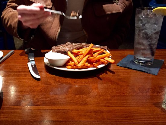 Mount Vernon, IL: Steak and fries