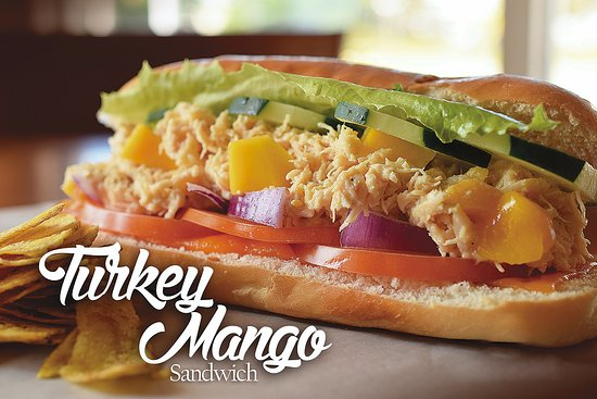 Cafe Del Sol: All time Favourite Turkey-Mango Sandwich!!