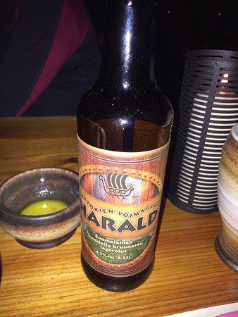 Ювяскюля, Финляндия: Cerveza de la casa
