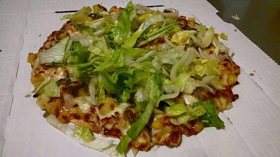 Bluffton, IN: a potm (pizza of the month) - chorizo taco