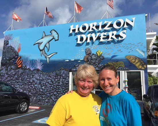Horizon Divers: Becky Kagan Schott found the shop, so can you :D
