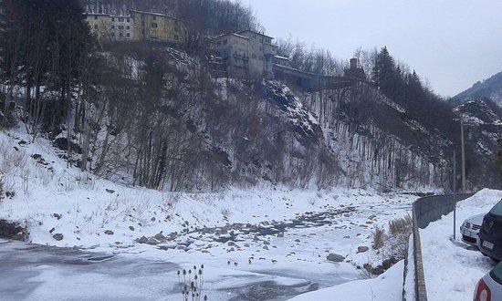 Fiumalbo, Italy: 40 metri dall'albergo