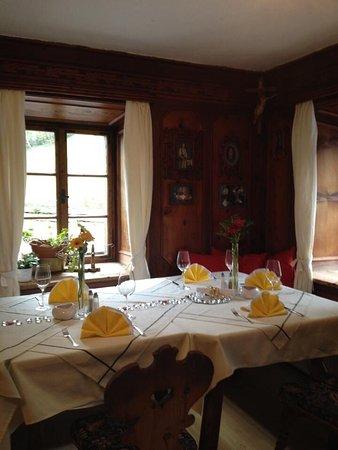 Mieders, Österreich: Restaurant Kirchbrucke