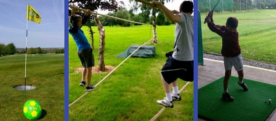 Navan, Irlanda: FootGolf, Adventure Assault Course, Human FoosBall, Golf Driving Range & more