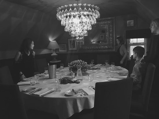 The Punch Bowl Inn: private dinning room