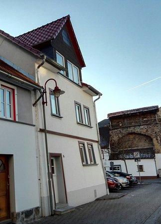 Butzbach, Tyskland: Eingang zur Ferienwohnung