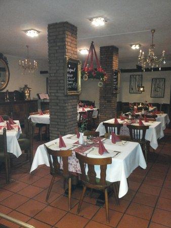 Herten, Tyskland: Restaurant