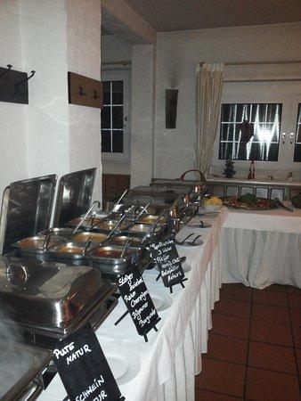 Herten, Tyskland: Donnerstag Schnitzel Bufett